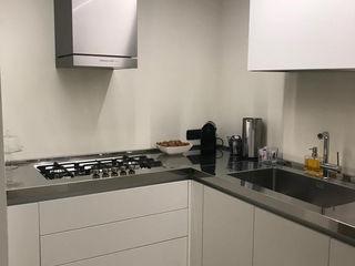 SteellArt Modern style kitchen White