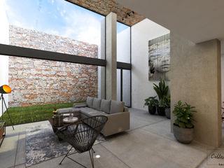 Citlali Villarreal Interiorismo & Diseño Industrial style living room