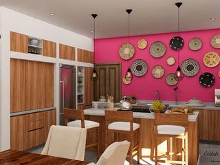 Citlali Villarreal Interiorismo & Diseño Colonial style dining room