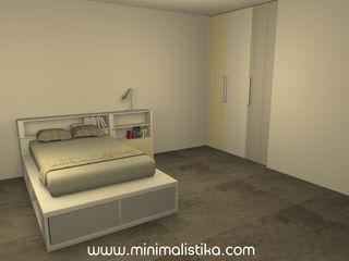 Minimalistika.com ミニマルスタイルの 子供部屋