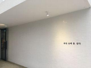 캐러멜라운지 牆面