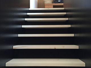 WoodDo Escaleras Derivados de madera Negro