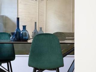 Casa PARIOLI Arabella Rocca Architettura e Design Sala da pranzo moderna