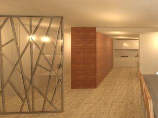 Sarah Paula - Interior Design Ingresso, Corridoio & Scale in stile moderno