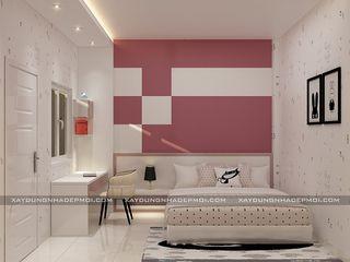 Công ty xây dựng nhà đẹp mới Nowoczesna sypialnia