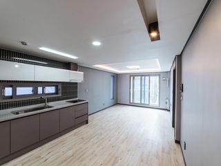 AAPA건축사사무소 現代廚房設計點子、靈感&圖片