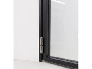 WITHJIS(위드지스) Centros de exposições modernos Alumínio/Zinco Preto