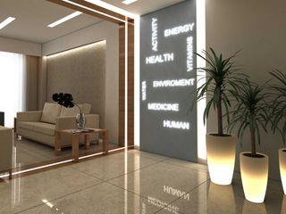 ANTE MİMARLIK Modern clinics Beige