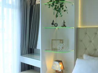 Gateway Diamond Apartemen POWL Studio BedroomBedside tables