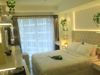 Gateway Diamond Apartemen POWL Studio BedroomBeds & headboards