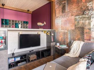 IQ Place Design Living room Wood Multicolored