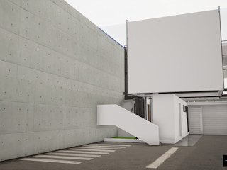 simbiosis ARQUITECTOS Estudios y oficinas modernos
