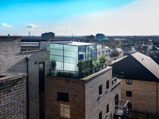 South West London IQ Glass UK Balkon Kaca Transparent