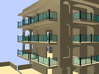 Ing. Edoardo Contrafatto Balcony Iron/Steel Black