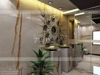 7WD Design Studio Banheiros modernos