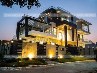7WD Design Studio Varandas, alpendres e terraços modernos
