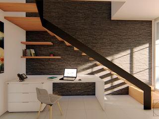 GóMEZ arquitectos Stairs Wood