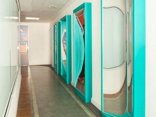 Liliana Zenaro Interiores Galerías y espacios comerciales de estilo industrial