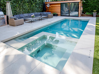 Outdoor Hydrotherapy Pool & Spa London Swimming Pool Company Piscinas modernas