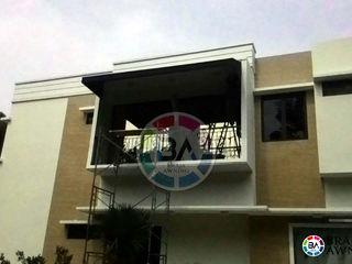 Braja Awning & Canopy 陽台、門廊與露臺 配件與裝飾品 布織品 Brown