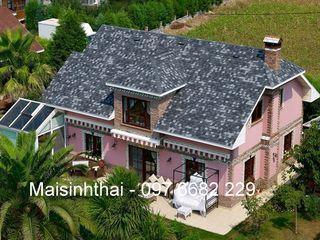 Công ty TNHH Xây dựng và Thương mại Việt Pháp Gable roof Grey