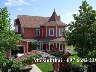 Công ty TNHH Xây dựng và Thương mại Việt Pháp Hipped roof Red