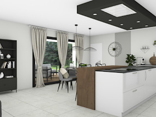 SAMANTHA DECORATION Moderne keukens