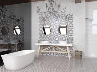 CERAMICHE MUSA Modern Bathroom Ceramic White