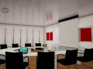 simbiosis ARQUITECTOS Estudios y despachos de estilo moderno
