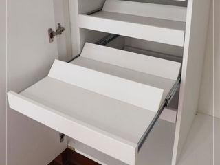 S P A C E - Closets y Walk in Closets Corporación Siprisma S.A.C VestidoresClósets y cómodas Blanco