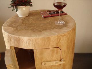 Minibar und Stehtisch Holzbau Bohse WohnzimmerCouch- und Beistelltische