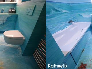 Moreno Licht mit Effekt - Lichtplaner Salle de bain tropicale