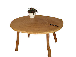 Massivholz tisch Eiche Holzbau Bohse WohnzimmerCouch- und Beistelltische
