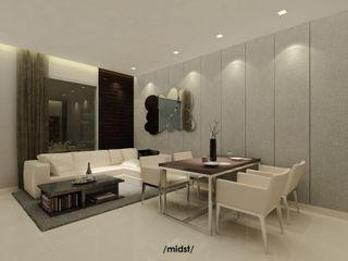 M I D S T Interiors Salas modernas