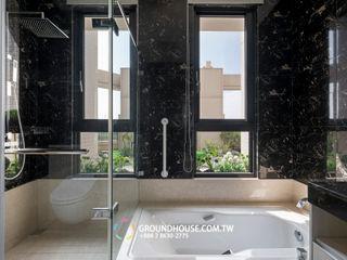 大地工房景觀公司 Tropical style bathrooms