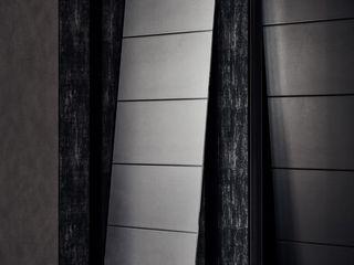 霏霧.烟波|Fog Floated 理絲室內設計有限公司 Ris Interior Design Co., Ltd. 玄關、走廊與階梯儲藏櫃