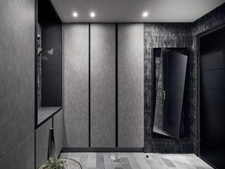 霏霧.烟波|Fog Floated 理絲室內設計有限公司 Ris Interior Design Co., Ltd. 現代風玄關、走廊與階梯