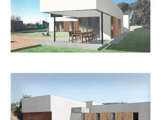 Memoria de proyecto Passivhaus Divers Arquitectura, especialistas en Passivhaus en Sabadell Jardines delanteros