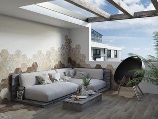 Ceramika Paradyz Moderner Balkon, Veranda & Terrasse