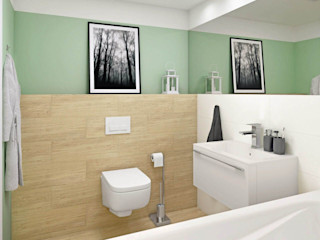 Ceramika Paradyz Klassische Badezimmer