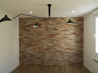 Reformadisimo Industrial style living room