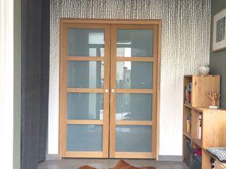 BIENVENUE MIINT - design d'espace & décoration Couloir, entrée, escaliers originaux Vert
