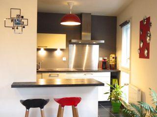 INSPIRATION CINÉMA MIINT - design d'espace & décoration Petites cuisines Gris