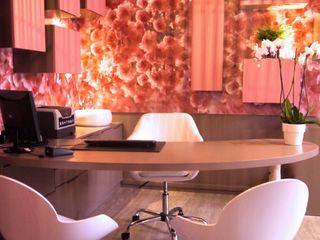 Cabinet Gynécologique BOUHOURS MIINT - design d'espace & décoration Cliniques modernes Rose