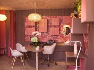 Cabinet Gynécologique BOUHOURS MIINT - design d'espace & décoration Cliniques modernes Beige