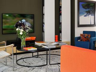 Franck VADOT Architecture Living roomShelves Wood White