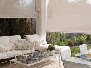 Inova Diseño y Decoracion Balconies, verandas & terraces Accessories & decoration White