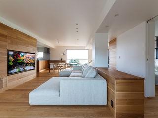 一級建築士事務所haus 스칸디나비아 거실