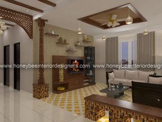 Honeybee Interior Designers Ruang Keluarga Klasik