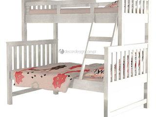 Decordesign Interiores Дитяча кімнатаЛіжка та дитячі ліжечка ДСП Білий